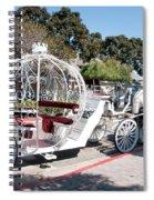 Cinderella Carriage Spiral Notebook