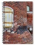 Circa 1901 Lowe Mill Art Studios Architecture Details Spiral Notebook