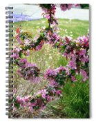 Circle Of Blossoms Spiral Notebook
