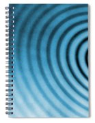 Circular Ripples Spiral Notebook