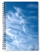 Cirrus Cloud Spiral Notebook