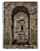 Citadelle Bridge Arch Spiral Notebook