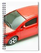 Citroen C4 Model Car Spiral Notebook