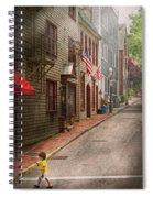 City - Rhode Island - Newport - Journey  Spiral Notebook