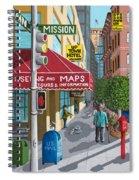 City Corner Spiral Notebook