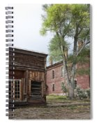 City Drug Store And Hotel Meade - Bannack Montana Ghost Town Spiral Notebook