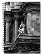 City Hall Edifice - Philadelphia Spiral Notebook