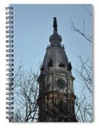 City Hall Tower Philadelphia Spiral Notebook