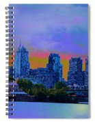 City Nights Spiral Notebook