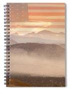 City Of Boulder Colorado Usa Wildfire Season Spiral Notebook