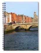 City Of Dublin Spiral Notebook