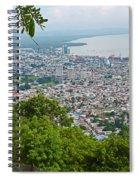 City Of Port Of Spain Trinidad 3 Spiral Notebook