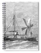 City Of Ragusa, 1870 Spiral Notebook