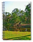 City Park Lagoon Spiral Notebook