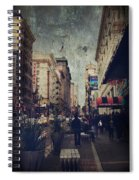 City Sidewalks Spiral Notebook