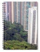 City Versus Nature Spiral Notebook