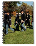 Civil Soldiers March Spiral Notebook