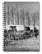 Civil War: Ambulances, C1864 Spiral Notebook