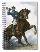 Civil War: Bugler, 1863 Spiral Notebook