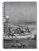 Civil War: Cavalry Charge Spiral Notebook