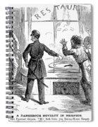 Civil War: Food Shortage Spiral Notebook