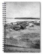 Civil War: Fort Defiance Spiral Notebook