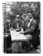 Civil War: Leisure, 1862 Spiral Notebook