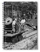 Civil War: Mortar Spiral Notebook