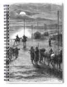 Civil War: Potomac Bridge Spiral Notebook