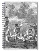 Civil War: Potomac River Spiral Notebook