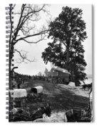 Civil War: Supply Base, 1864 Spiral Notebook