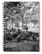 Civil War: Torpedo Shells Spiral Notebook