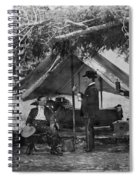Civil War: Union Camp Spiral Notebook