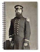 Civil War Union Commander Spiral Notebook