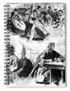 Civil War: Women, 1862 Spiral Notebook