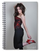 Claire2 Spiral Notebook