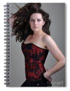 Claire5 Spiral Notebook