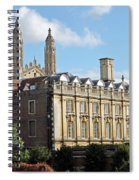 Clare College Cambridge Spiral Notebook