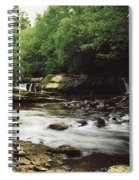 Clare River, Clare Glens, Co Tipperary Spiral Notebook