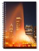 Clarence Buckingham Memorial Fountain Spiral Notebook