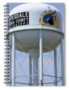 Clarksdale Water Tower Spiral Notebook