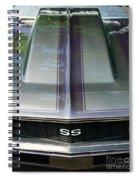 Classic Camaro Ss Hood Cowl Spiral Notebook
