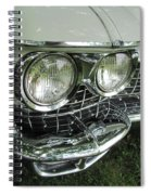 Classic Car - White Grill 1 Spiral Notebook