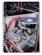 Classic Car Engine Spiral Notebook