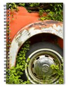 Classic Car Forgotten Spiral Notebook