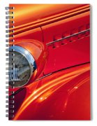 Classic Car Lines Spiral Notebook