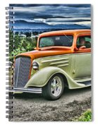 Classic Ford Hdr Spiral Notebook