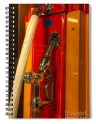 Classic Gas Pump Spiral Notebook