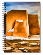 Classic In Abstract Spiral Notebook