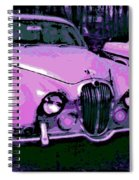 Classic In Pink Spiral Notebook